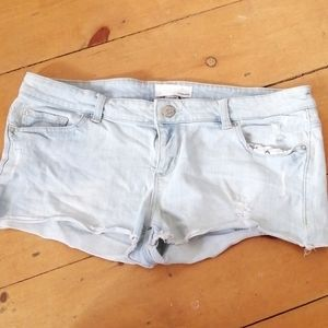 2/$20 Distressed style Jean shorts